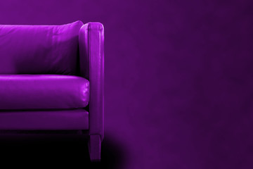 Gorgeous Purple Sofa