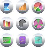 Fototapety chart buttons