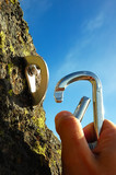 HAND ATTACHING CARABINER poster