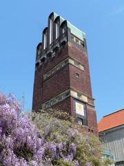 Darmstadt, Mathildenhöhe, Hochzeitsturm