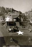 World War II era tank poster