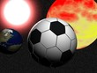football in cosmos
