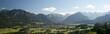 Leinwandbild Motiv Oberstdorf im Allgäu