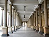 Colonnade in the famous spa resort Karlovy Vary aka Karlsbad - 5073409