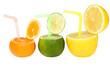 цветные фруктовые напитки абстрактным.