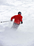 Powder Skiing poster