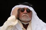 old arabian man thinking poster