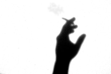 Emotion shadow - smoker