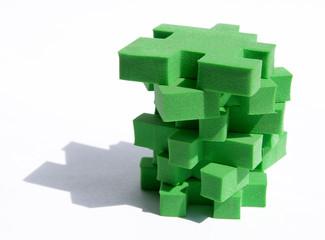 torre de puzzle