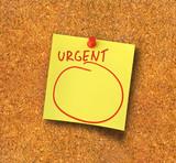urgent note #2 poster