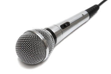 New and metal microphone