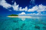 Fototapety Tropical island vacation paradise