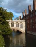 Bridge of Sighs, St Johns College, Cambridge poster