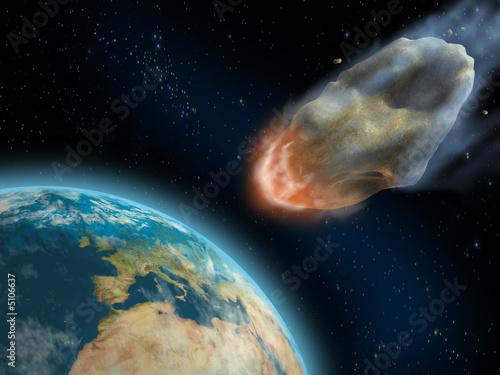 Asteroid impact - 5106637
