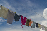 drying clothes poster