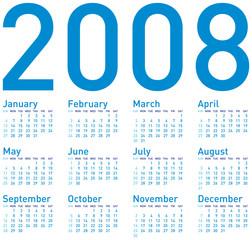 calendar 2008 (d2b)
