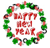 happy new lucky year poster