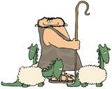 Caveman Shepherd poster