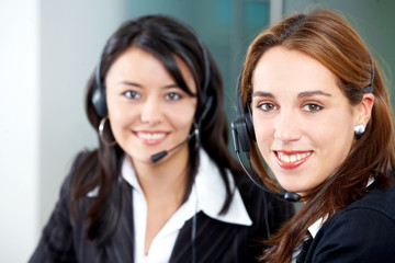 customer service girls