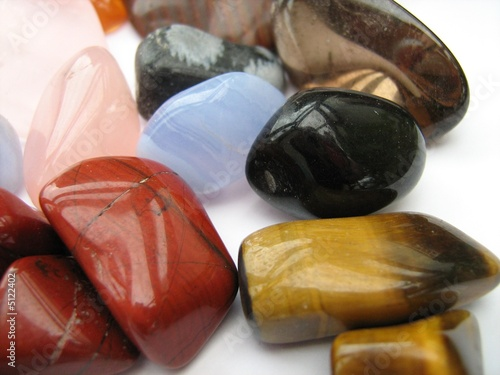 Golden Tigers Eye Red Jasper Crystals