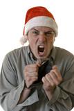 Angry Broke Xmas poster
