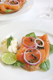 Smoked Salmon Appetizer poster