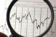 Leinwandbild Motiv Aktien und Börse