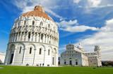 Le campo dei miracoli à Pise en Toscane poster