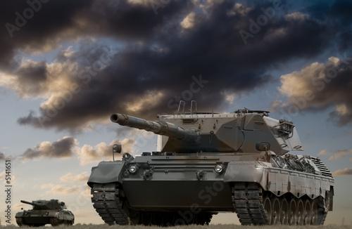 poster of Tank Battle