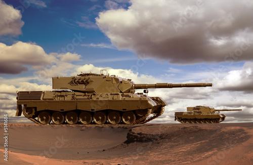 Desert Tanks