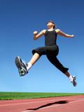 Fototapety Running woman