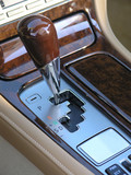 Luxury car automatic shifter poster