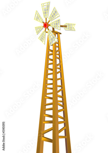 WINDMILL ON HIGH CONSTRUCTION