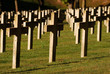 Soldiers cemetery in Montauville, France