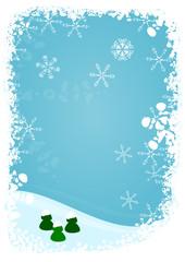 Briefpapier Winter