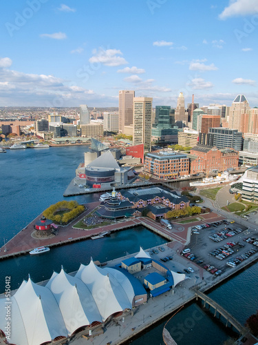 Baltimore Harbor Overview - 5150412