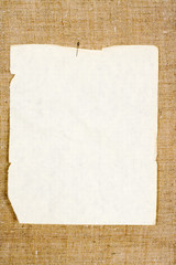 Sheet of a clean paper