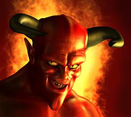 Devilish Grin - 3D render