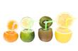 Abstract fruits drink - Стоковая фотография.