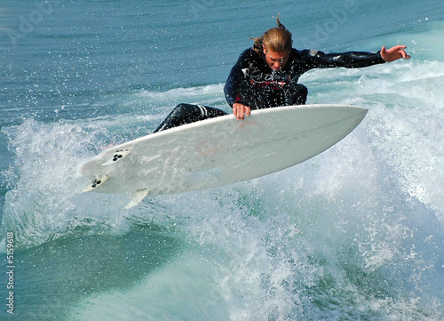 Surfer in Air