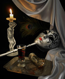 venetian mask2 poster