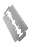 safety razor blade poster