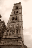 Medieval tower in Florence Italy poster