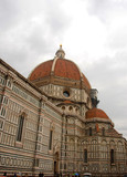 Cathedral in Florence Italy poster
