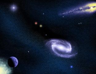 Space scene 03