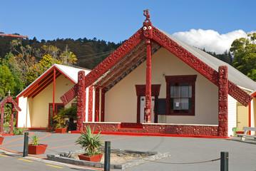 Marae (Maori Meeting ground)