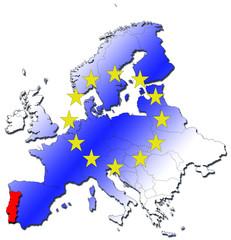 l'europe et le portugal