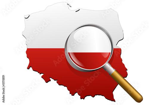 Etude de la Pologne (Drapeau)