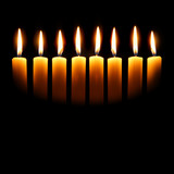 Channukah candles