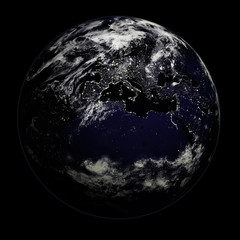 Night Earth - Europe/Asia/Africa